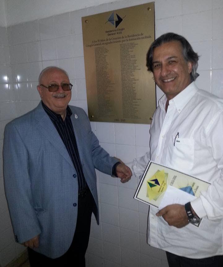 Dr. Pinta y Dr. Cesar Aguirre